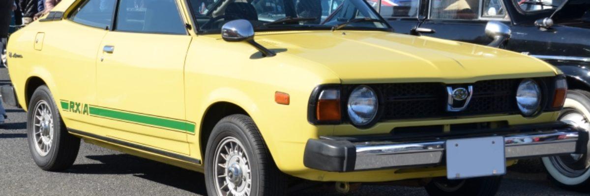 今はビンテージ。70年代、80年代を通してSUBARUの乗用車の中核を担った「スバル・レオーネ」